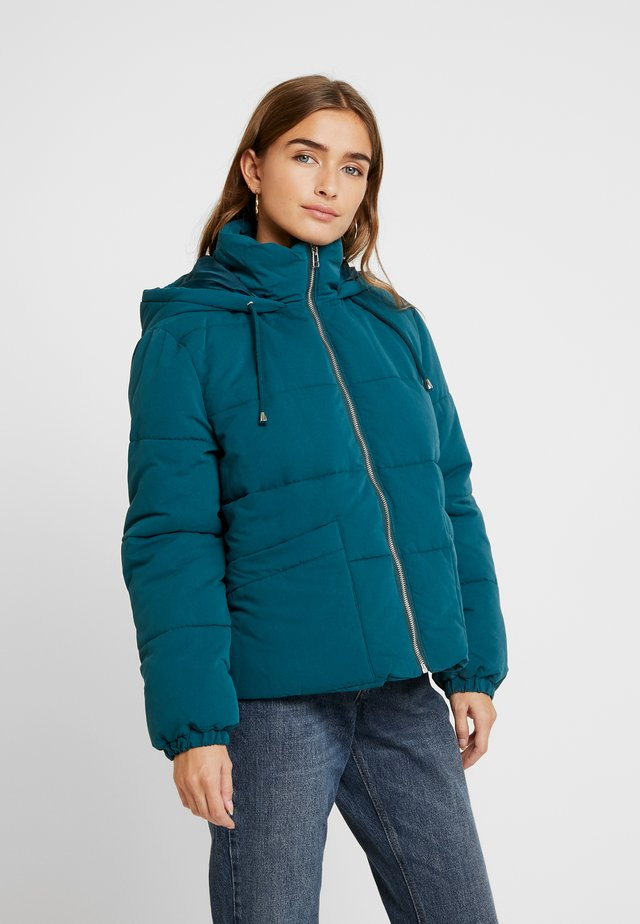 SPORTY PUFFER - Winter jacket - petrol