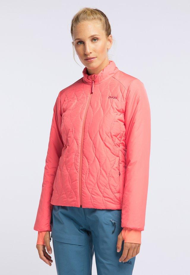 SHEEN - Snowboard jacket - grapefruit pink