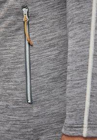 PYUA - SHOAL - Training jacket - light grey melange - 4