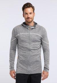 PYUA - SHOAL - Training jacket - light grey melange - 0