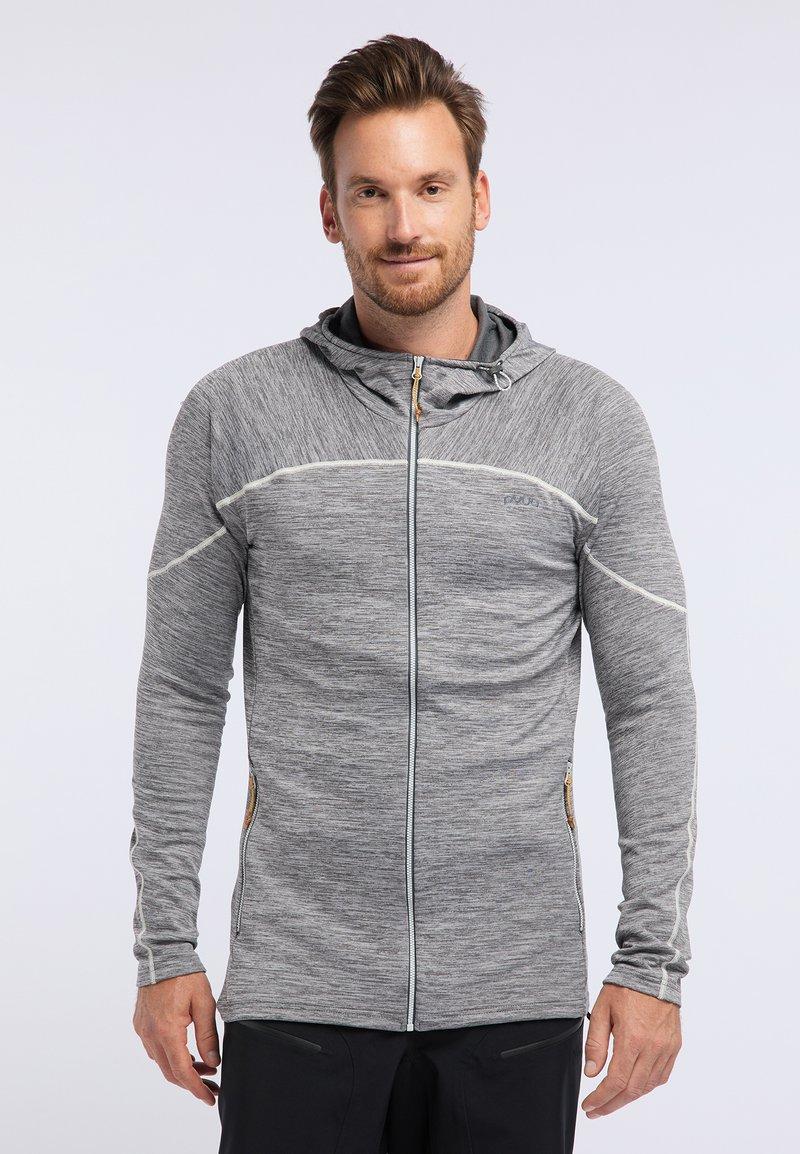 PYUA - SHOAL - Training jacket - light grey melange