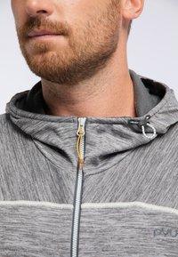 PYUA - SHOAL - Training jacket - light grey melange - 3