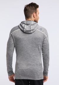 PYUA - SHOAL - Training jacket - light grey melange - 2