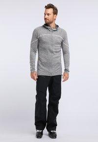 PYUA - SHOAL - Training jacket - light grey melange - 1