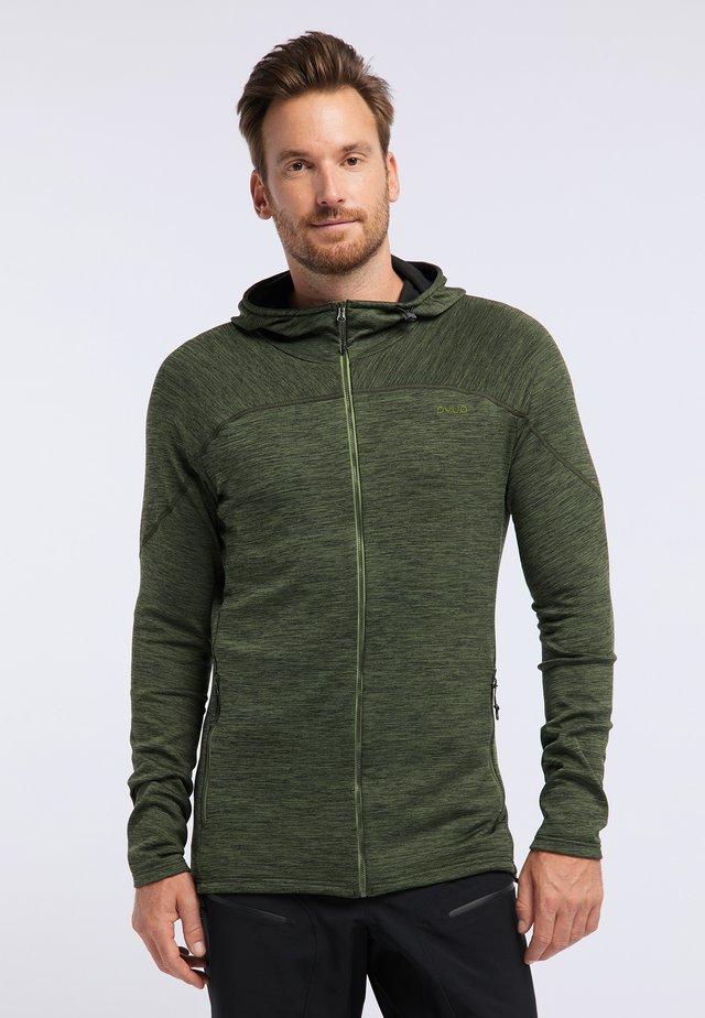 SHOAL - Training jacket - rifle green