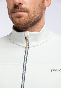PYUA - PRIDE - Training jacket - foggy white - 3