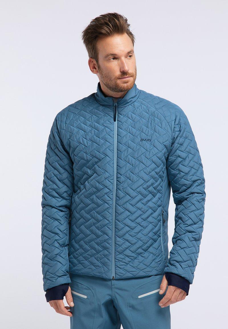 PYUA - RAY - Snowboard jacket - stellar blue
