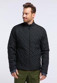 PYUA - RAY - Snowboard jacket - black - 0