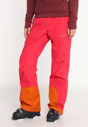 RELEASE - Ski- & snowboardbukser - barberry pink