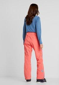 PYUA - RELEASE - Pantaloni da neve - grapefruit pink - 0