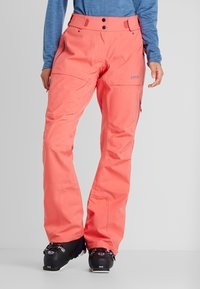 PYUA - RELEASE - Snow pants - grapefruit pink - 1