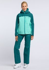 PYUA - RELEASE - Snow pants - petrol blue - 1