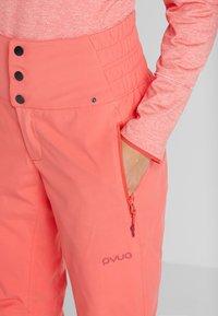 PYUA - SOOTH - Schneehose - grapefruit pink - 4