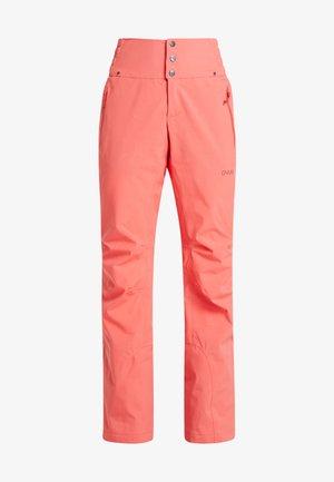 SOOTH - Snow pants - grapefruit pink