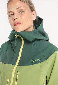 PYUA - SOURCE - Giacca da sci - pine green-pistachio green - 3