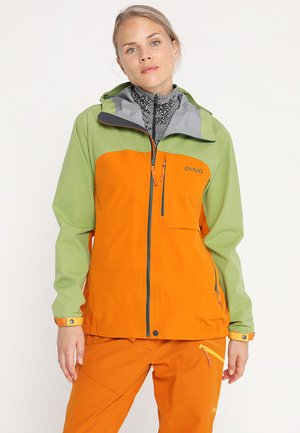 GORGE - Skijacke - pistachio green/fox orange