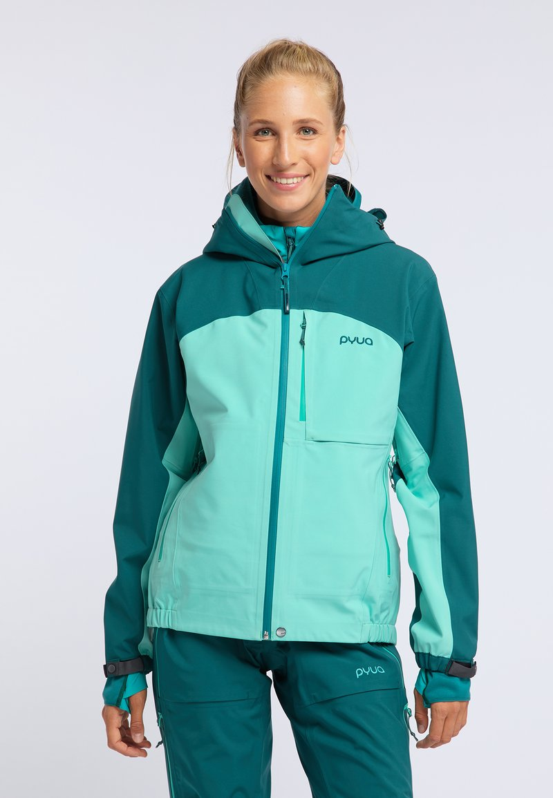 PYUA - GORGE - Ski jacket - light blue