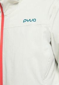 PYUA - BLISTER - Snowboardjacke - foggy white - 3