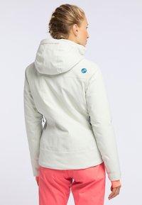 PYUA - BLISTER - Snowboardjacke - foggy white - 2