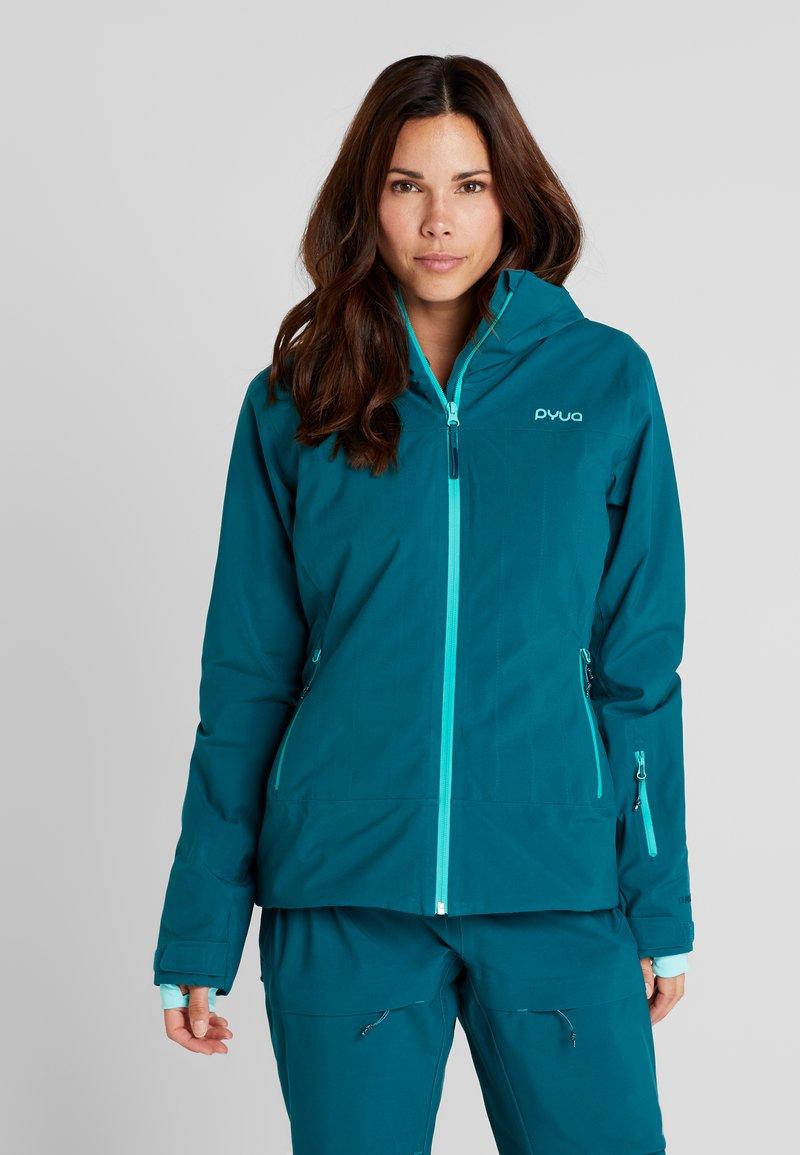 PYUA - BLISTER - Snowboardjacka - petrol blue