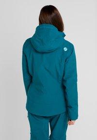PYUA - BLISTER - Snowboardjacka - petrol blue - 2