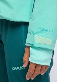 PYUA - BLISTER - Snowboard jacket - turquoise - 3