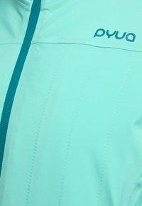 PYUA - BLISTER - Snowboard jacket - turquoise - 4
