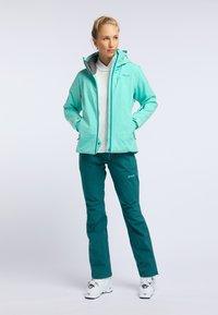PYUA - BLISTER - Snowboard jacket - turquoise - 1