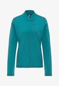 PYUA - APPEAL - Fleece jacket - petrol blue