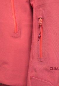 PYUA - HYLE - Giacca da snowboard - dark pink - 4