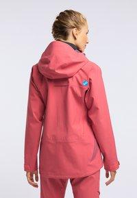 PYUA - HYLE - Giacca da snowboard - dark pink - 2