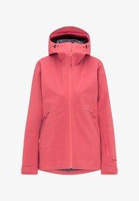 PYUA - HYLE - Giacca da snowboard - dark pink - 5