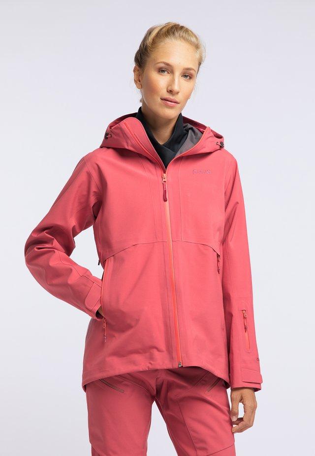 HYLE - Snowboard jacket - dark pink