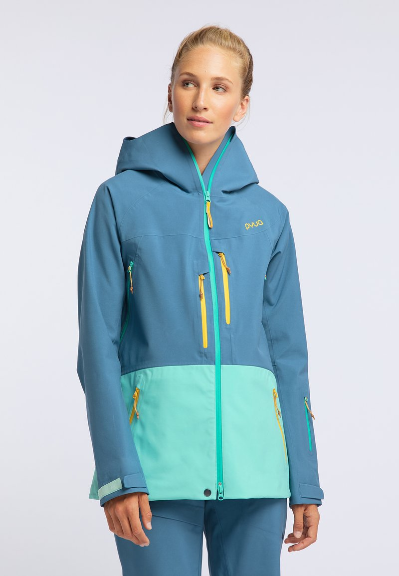 PYUA - Soft shell jacket - blue