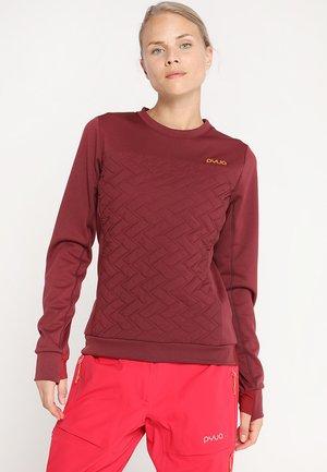 DUSK 2.0 - Funktionsshirt - burgundy red