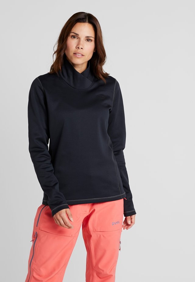 TEMPER - Fleece jumper - black