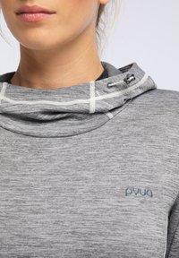 PYUA - Hoodie - light grey melange - 3
