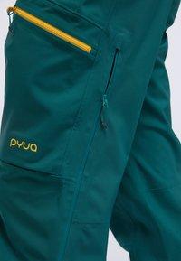 PYUA - CREEK - Snow pants - petrol blue - 4