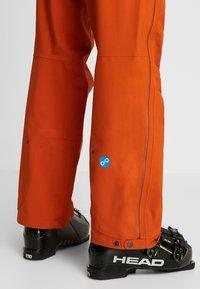 PYUA - RELEASE - Snow pants - rusty orange - 3