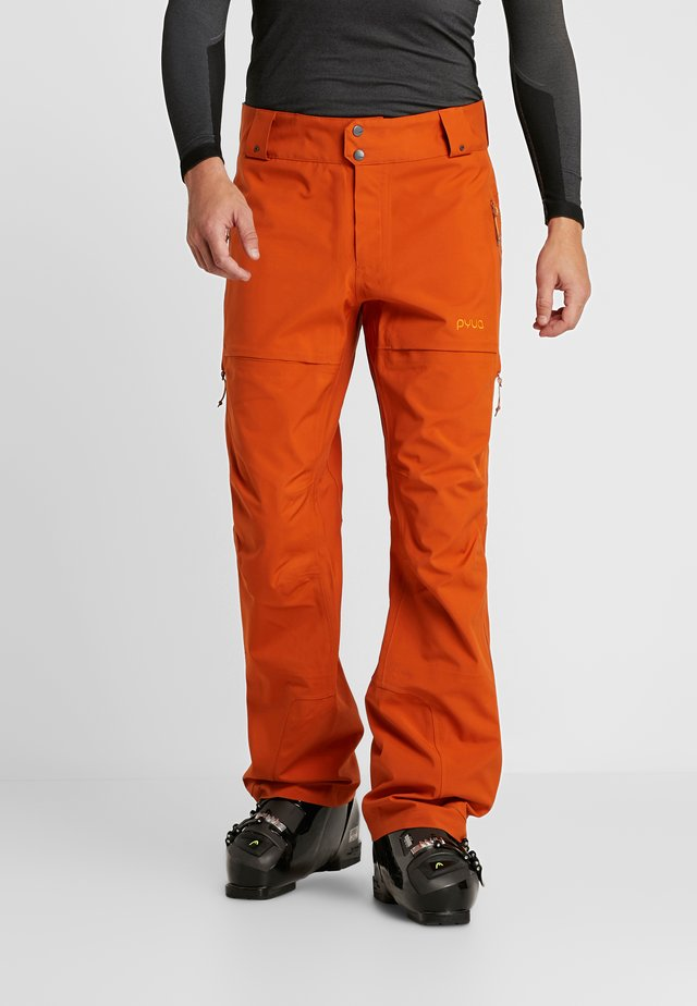 RELEASE - Snow pants - rusty orange