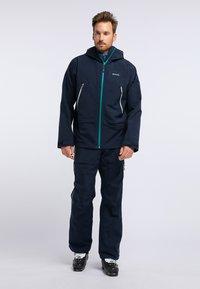 PYUA - RELEASE - Snow pants - navy blue - 1