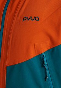 PYUA - GORGE - Snowboard jacket - rusty orange/petrol blue - 5