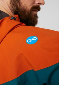PYUA - GORGE - Snowboard jacket - rusty orange/petrol blue - 7