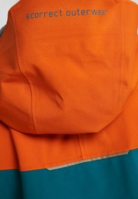 PYUA - GORGE - Snowboard jacket - rusty orange/petrol blue - 4