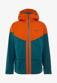 PYUA - GORGE - Laskettelutakki - rusty orange/petrol blue - 8