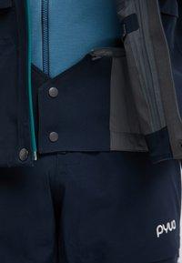 PYUA - GORGE - Snowboard jacket - navy blue - 4