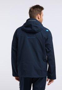 PYUA - GORGE - Snowboard jacket - navy blue - 2