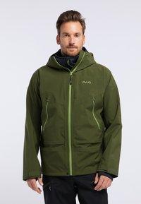 PYUA - GORGE - Snowboard jacket - rifle green - 0