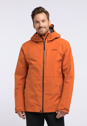 EXCITE - Chaqueta de snowboard - rostige Orange