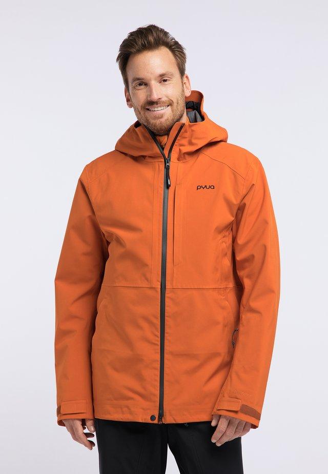 EXCITE - Snowboard jacket - rostige Orange